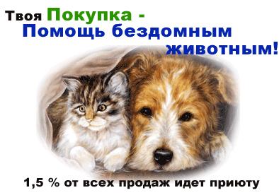 Помошь бездомным животным